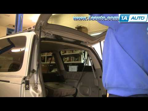 How To Install Replace Sagging Rear Tailgate Hatch Chevy Venture Pontiac Montana 97-05 1AAuto.com
