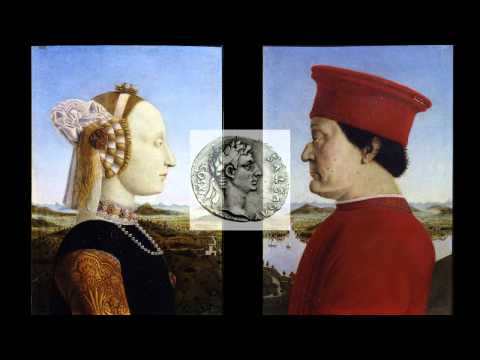 Piero della Francesca, Portraits of the Duke and Duchess of Urbino, 1467-72