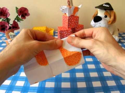 Origami Cat Bank