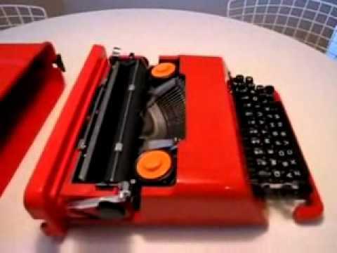 1971 Radio Ad for Olivetti Valentine Mechanical Typewriter