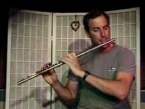 Demo Of How To Play Boure In Em By J.S. Bach On The Flute
