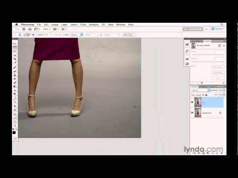 Retouching with the Content-Aware Fill tool | lynda.com tutorial