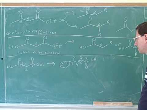 Reactions of enamines and enolates (30)