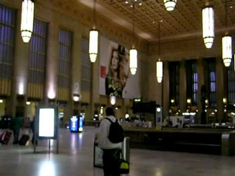 Market Street Train Station, Philadelphia, Pennsylvania