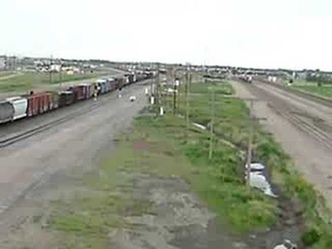 Largest Railroad Switching Yard in USA:  North Platte