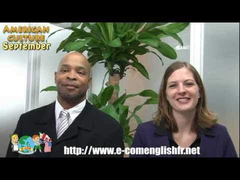 E-com English Monthly Videocast September - American Culture
