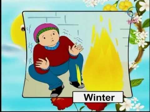 Kindergarten - Our House & Season - Kids Cartoon Animation Learn Series