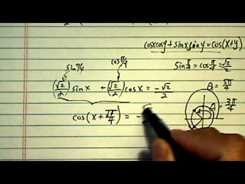 Trig Equation: find all solutions in the interval [0-2pi)? sinx+cosx=-1