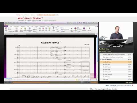 What's New in Sibelius 7