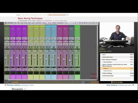 Pro Tools: Basic Mixing Techniques