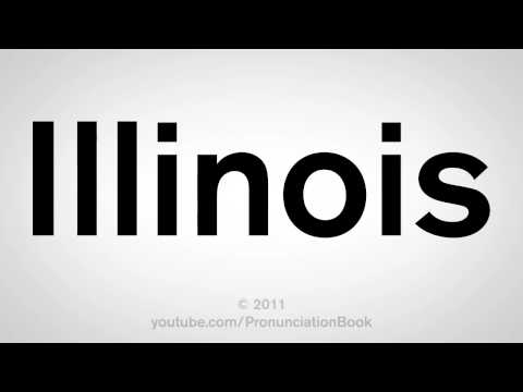 How To Pronounce Illinois
