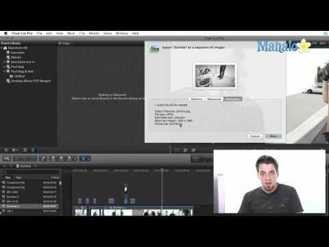 Export an Image Sequence - Final Cut Pro X