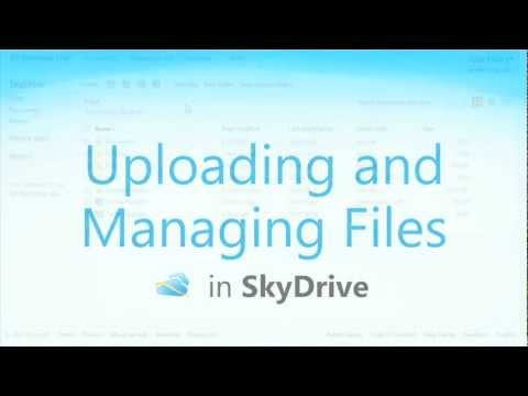 Office Web Apps: Uploading and Managing Files