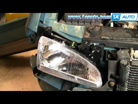 How To Install Replace Headlight Mounting Bracket Dodge Intrepid 93-97 1AAuto.com