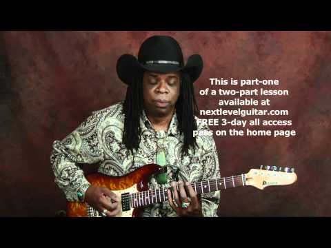Larry Mitchell lead melodic rock guitar soloing lesson learn scales licks arpeggios part1