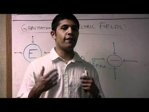 Gravitational and Electric Fields Pt  1