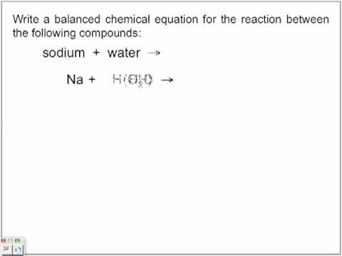 Single Displacement Reactions Part 1