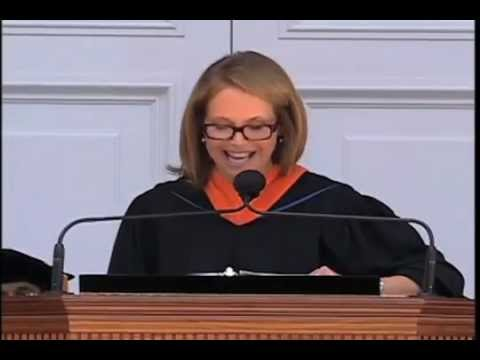 Katie Couric at The University of Virginia 2012 Commencement Address -  Part 2