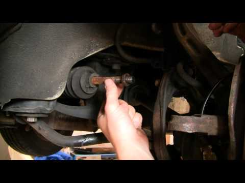 How To Install Replace Outer Steering Tie Rod Honda Accord Odyssey Acura CL Oasis 94-99 1AAuto.com