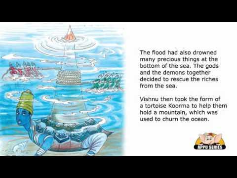 English Talking Book - Lord Vishnu