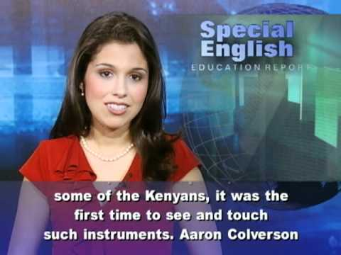 American Music Students in Kenya