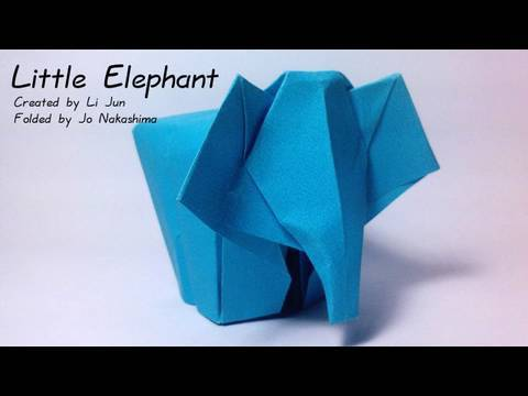 Origami Little Elephant (Li Jun)