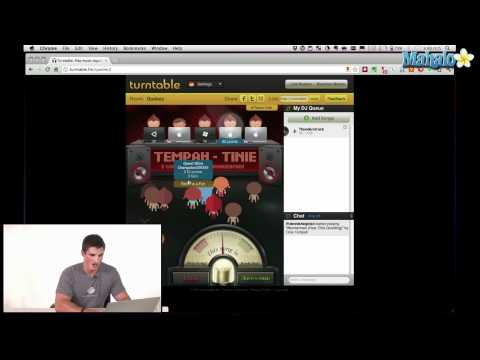 How to Use Turntable.fm - Social Networking Features