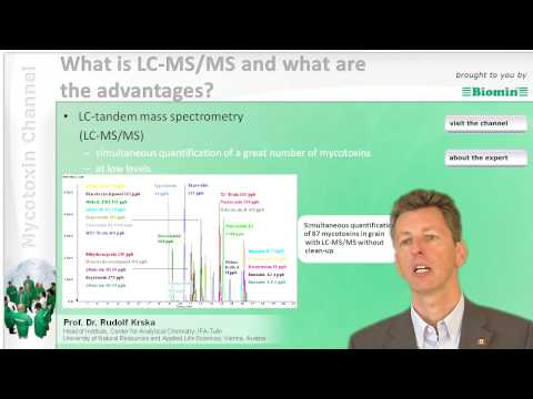 What is LC-MS/MS and what are the advantages?