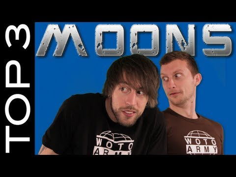 Liam & Brad learn about tectonic faults on Enceladus! Top 3 Moons #1