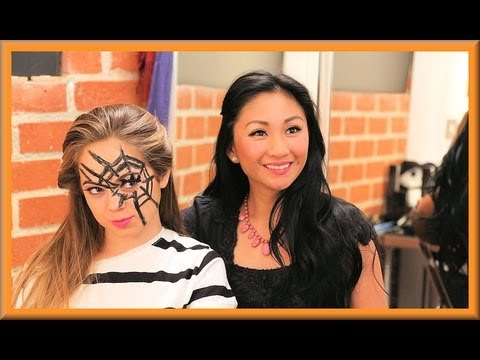 Halloween Spiderweb Tutorial with BeautyliciousInsider (bloopers included) - AprilAthena7