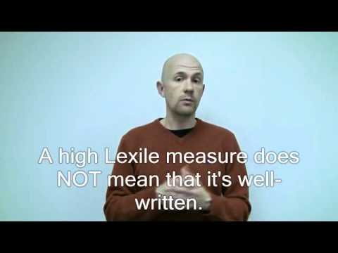 Why do some great books have low Lexile measures.wmv