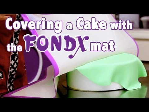How to Cover a Cake in Rolled Fondant | Cake Tutorials