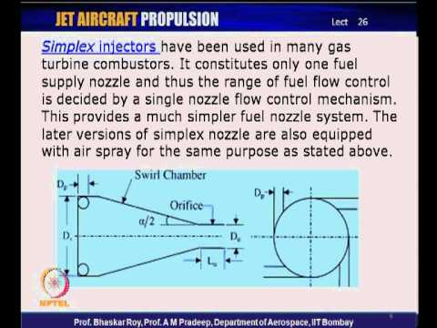 Mod-01 Lec-26 Practical combustion system ; Stability, Fuel injection