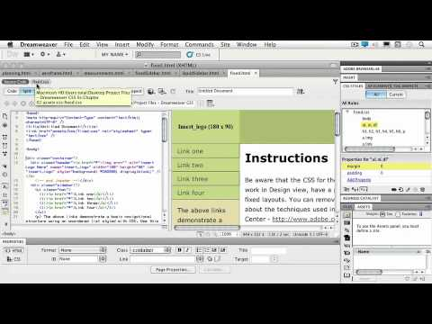 Total Training for Adobe Dreamweaver CS5: C2 L3 Exploring the Benefits of Using CSS
