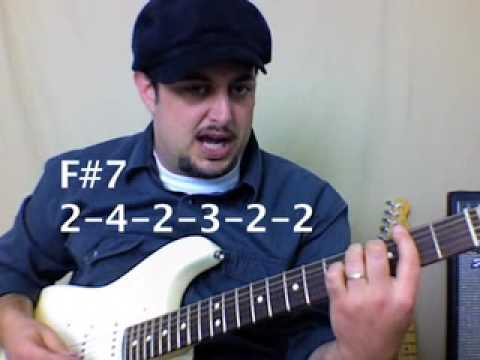 Guitar Class - Classic Blues Jazz Funk Soul Progression