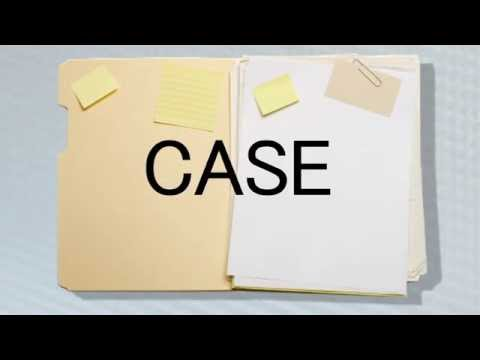 Learn English Words: Case