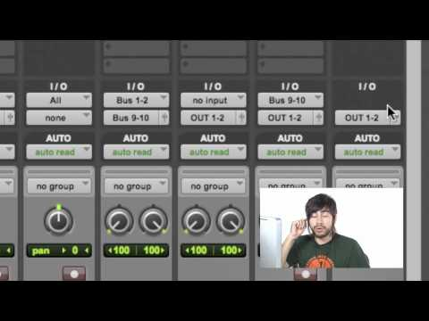 Master Fader Track for Recording - Pro Tools 9