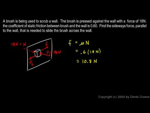 Physics 4.7.3d - Friction Example 4