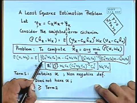 Lec-18 Kalman Filter-Model and Derivation