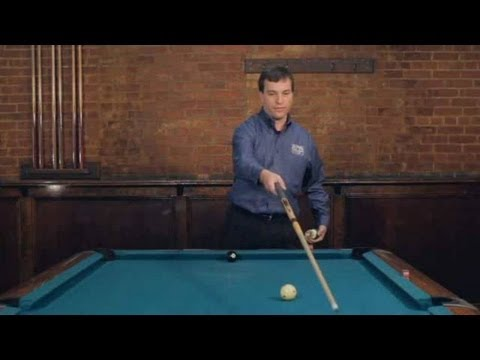 Pool Trick Shots / Fundamentals: Using Side Spin