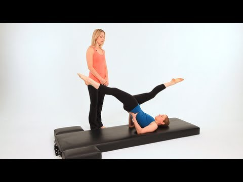 Advanced Pilates Mat Exercises: High Scissors