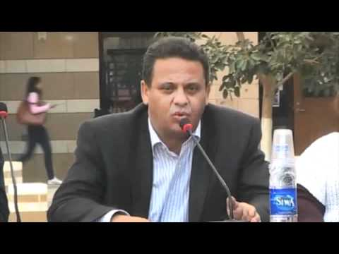 Ahmed Said '85 speaks about the upcoming parliamentary elections in Egypt