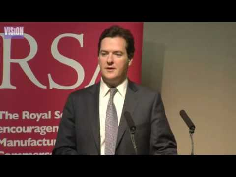 George Osborne - Economic thinking after the crunch