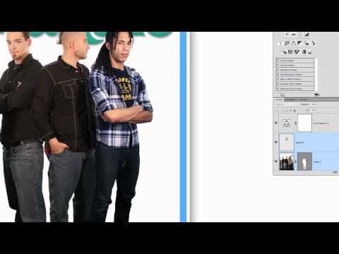 How to Make a Magazine Cover in Photoshop - Color and Contrast