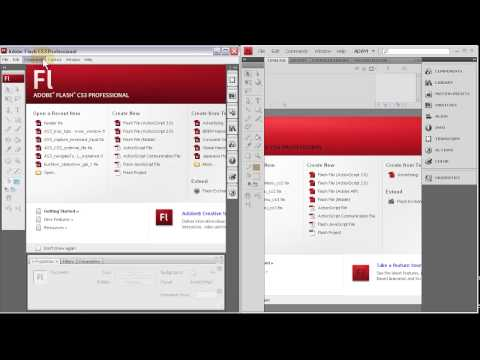 Detect User Flash Player Version Scripts - Flash CS3 + CS4 Website Tutorial