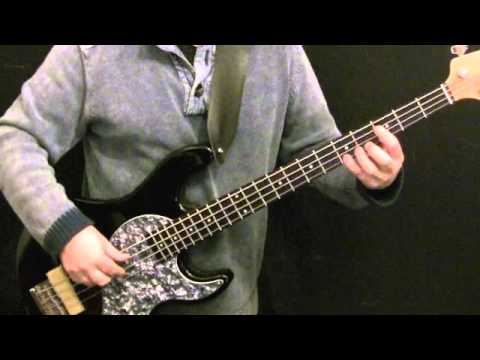 Motown Style Groove For Bass Guitar #37 - James Jamerson