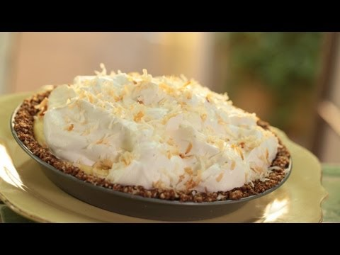 Coconut Cream Pie w/ Macadamia Crust: Make It (Recipe For How To Make This Pie) || Kin Eats