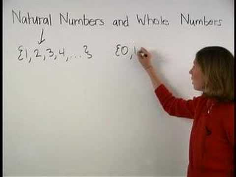 Natural Numbers and Whole Numbers - YourTeacher.com