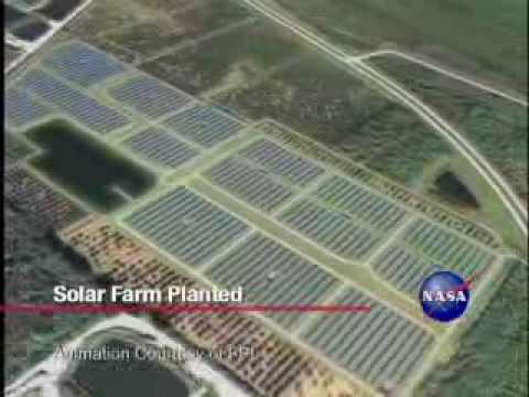 NASA Plants Solar Farm at Kennedy