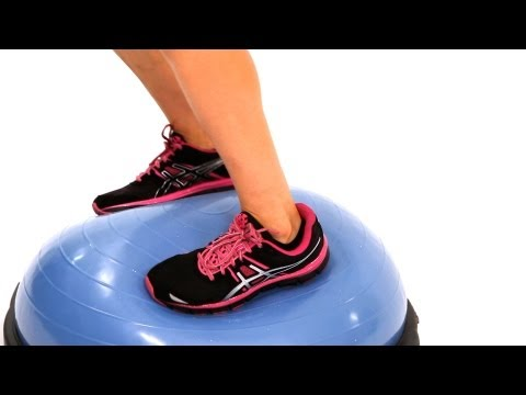How to Do Turning Jumps with a Bosu Ball | Exercise Ball Workout